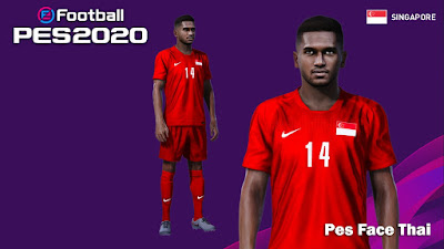 PES 2020 Faces Harris Harun by PESFaceThai