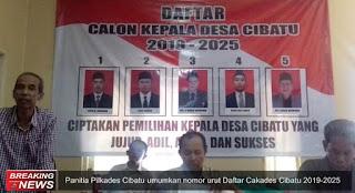 panitia pilkades Cibatu 2019-2025
