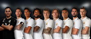 Nueve madridistas nominados al equipo ideal del año de la Uefa