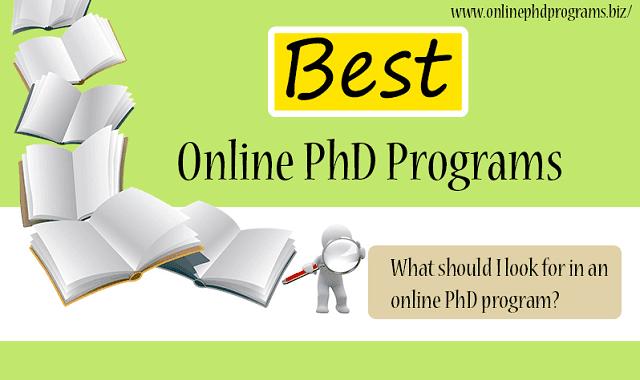 Phd online