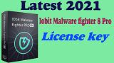Latest 2021 Iobit malware fighter V 8.4.0 Pro license key