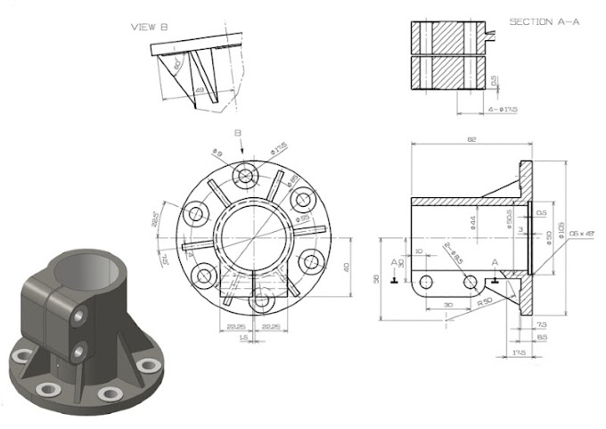Cad 2D drawing Exercise |Fusion 360