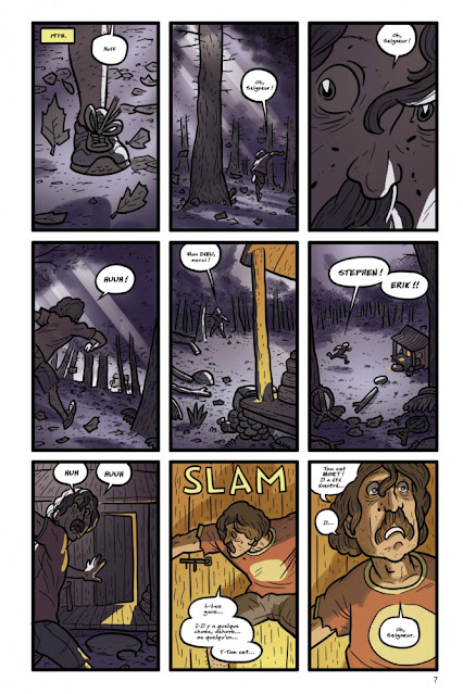 Kaijumax Livre II de Zander Cannon aux éditions Bliss Comics page 7