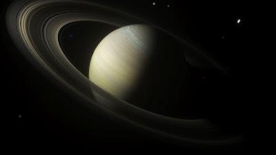 Wallpaper Saturn, planet, ring, stars, Space HD