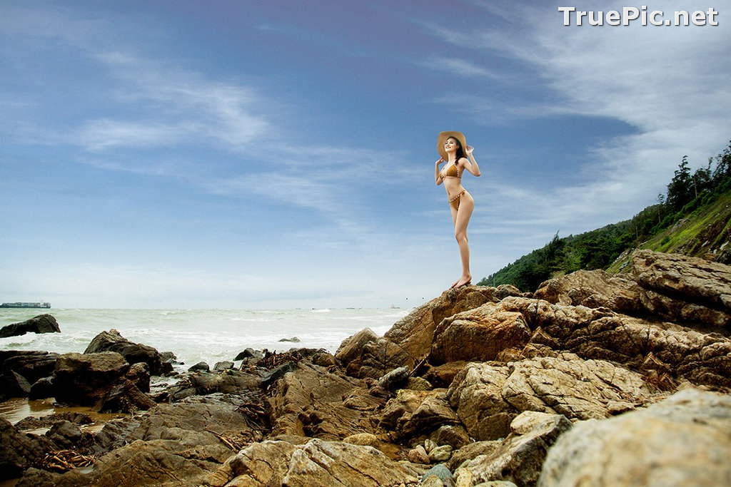 Image Vietnamese Hot Model - Thuy Trang - Wool Bikini Collection - TruePic.net - Picture-6