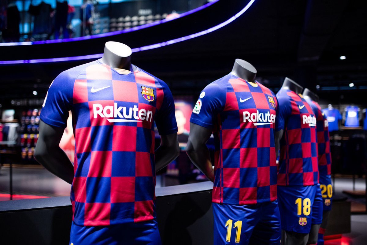 huge selection of dc436 0d11c Photos: Barca's New Kit For 2019/20 Season - Queens Mail