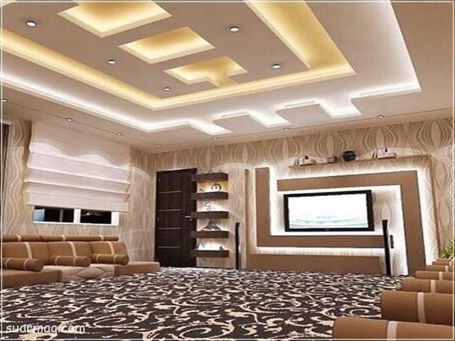 ديكورات اسقف جبس بسيطة 2020 11   Simple gypsum ceiling decor 2020 11