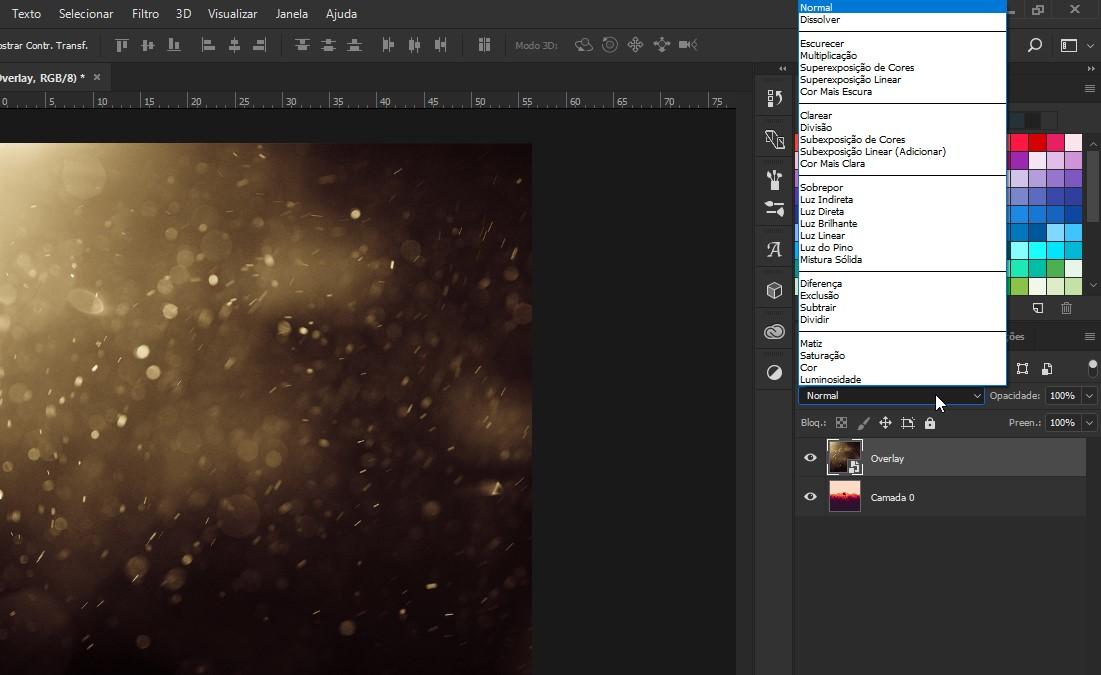 Photoshop: Sobreposição em imagens 3