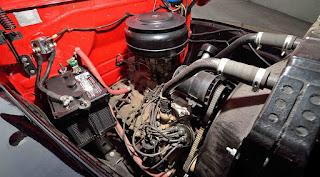 1950 Mercury M-47 Pickup Engine 01
