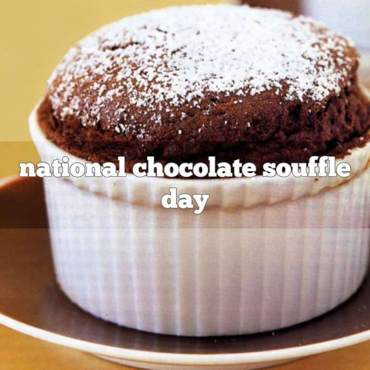 National Chocolate Souffle Day Wishes for Instagram