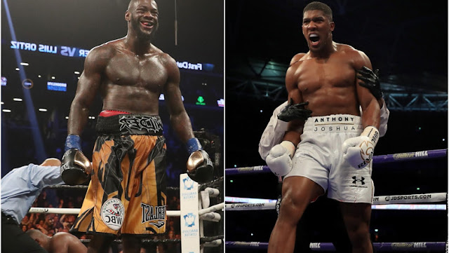 'They know what I possess': Deontay Wilder says Anthony Joshua will keep avoiding him even if he beats Andy Ruiz Jr.