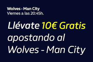 william hill promocion Wolves vs City 27 diciembre 2019