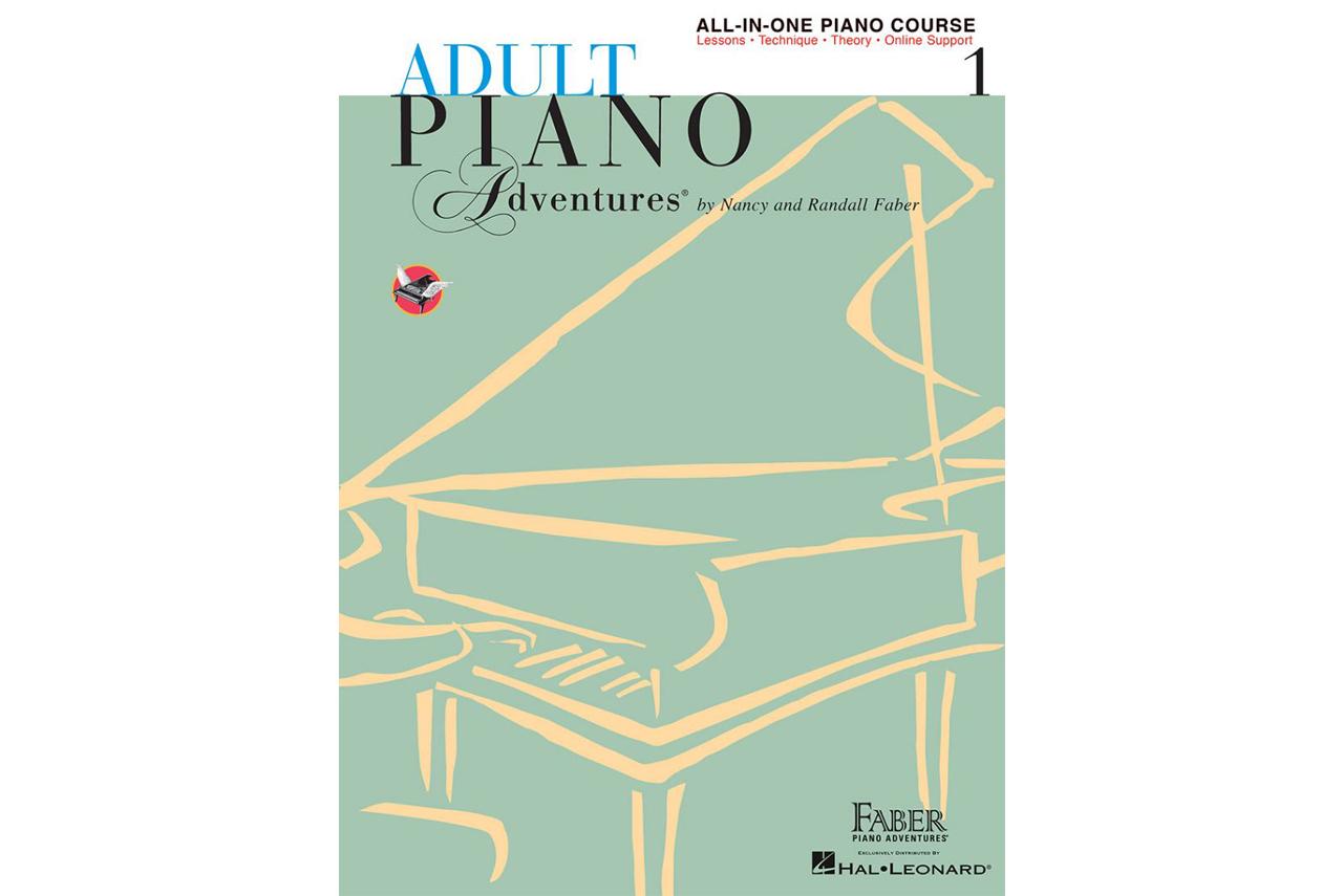 استعراض كتاب مغامرات الكبار لتعلم البيانو - نانسي وراندال فابر