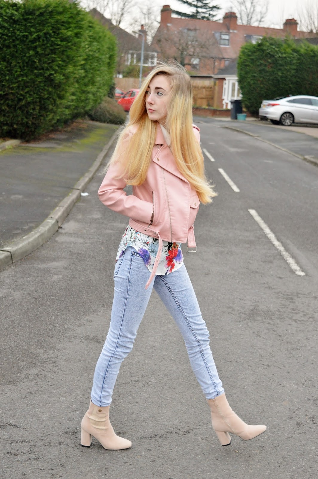 Floral Blouse Styling