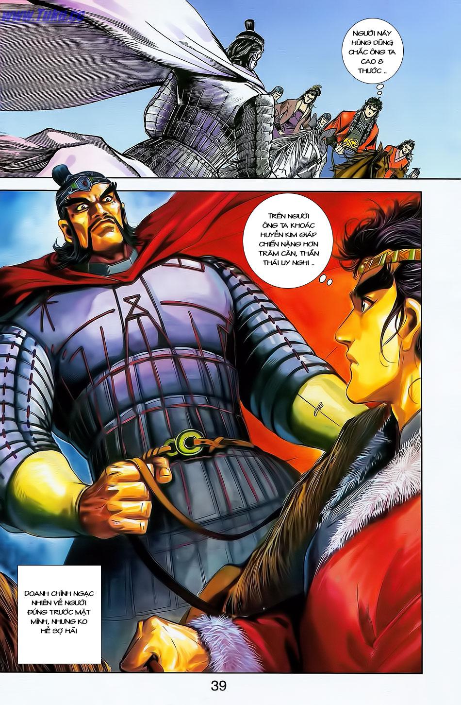 Tần Vương Doanh Chính chapter 4 trang 10