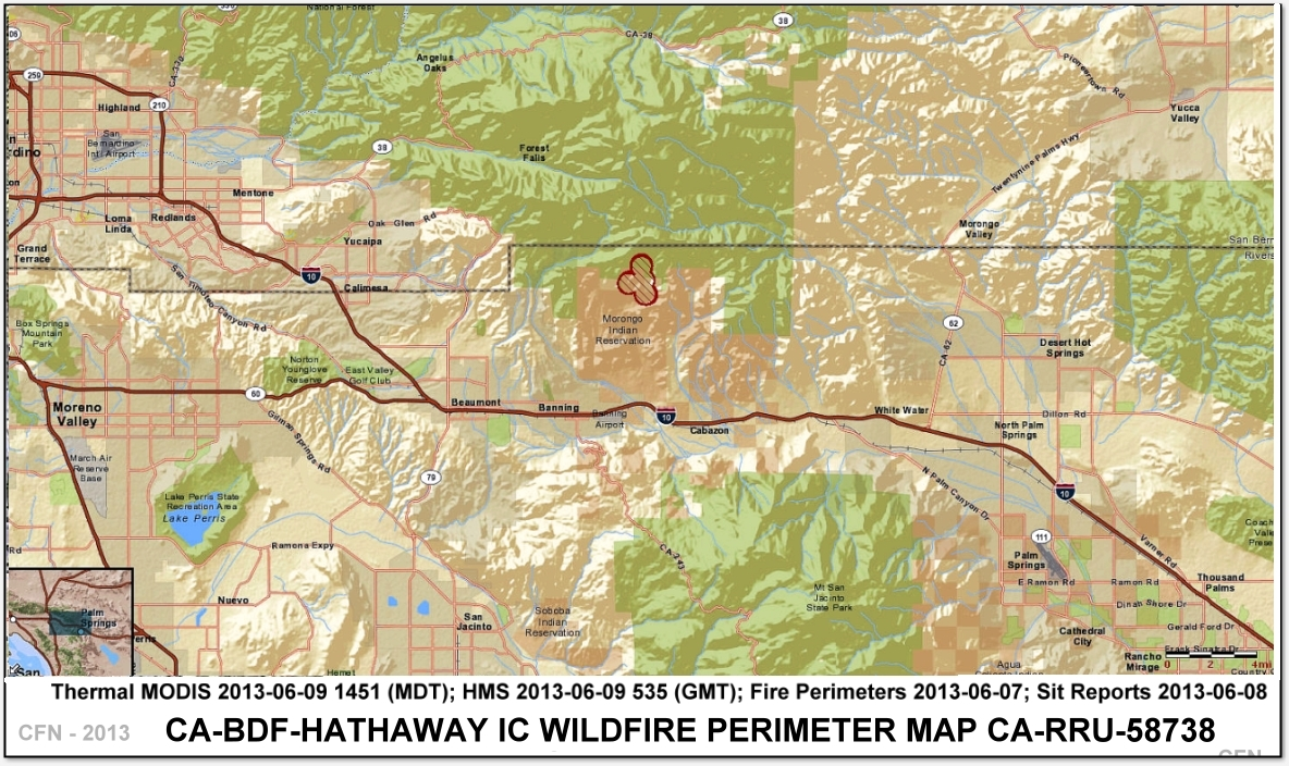 angeles national forest map pdf