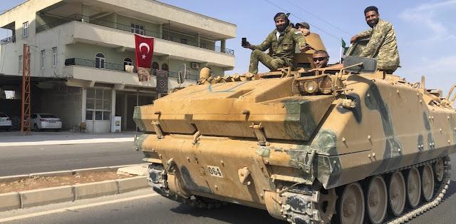 Συρία: Τουρκικές δυνάμεις αναπτύχθηκαν στην πόλη Σαρακέμπ