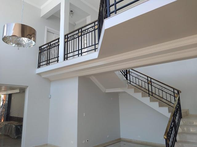 Casa pintada interno cor Crómio