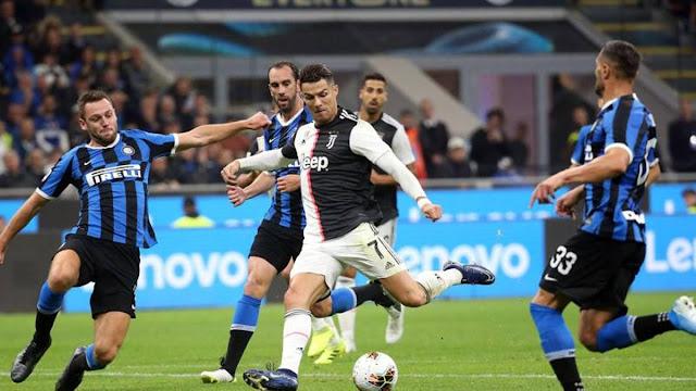 """تعرف على موعد مباراة """"الديربي الإيطالي"""" بين يوفنتوس وإنتر ميلان في """"الكالتشيو"""""""