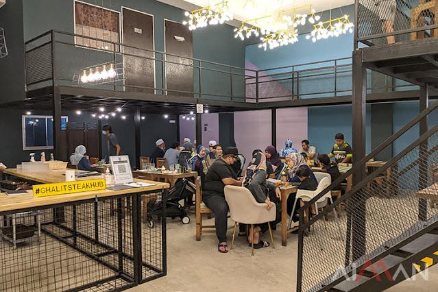 Cuba Tempat Makan Baru Di Temerloh, Ghalit Steak Hub