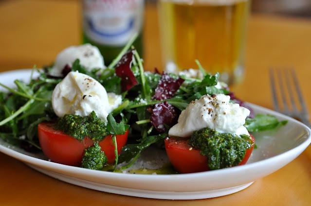 Burrata Arugula Salad Recipe