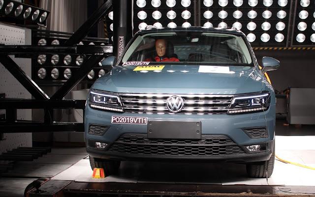 VW Jetta e Tiguan ganham 10 estrelas Latin NCAP