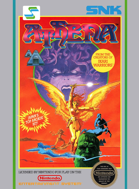 Athena NES box art