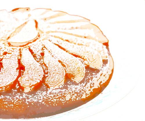 Raspberry Peach Pound Cake Recipe