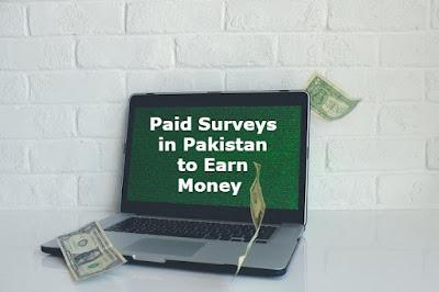 Paid Surveys in Pakistan to Earn Money