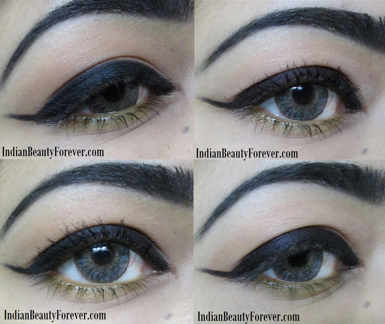 Maybelline Lasting Drama Gel Eyeliner Black Review, swatches