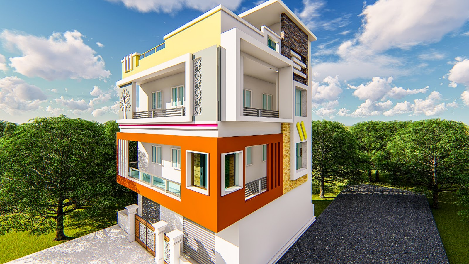 S3 Designs9 Best House Elevations Elevation Designs House