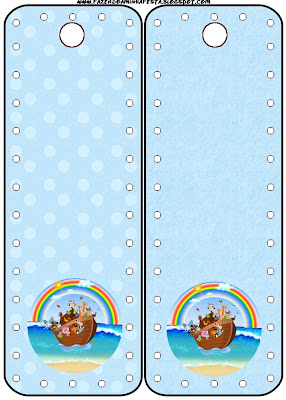 Arca De Noe Kit Completo Com Molduras Para Convites Rotulos