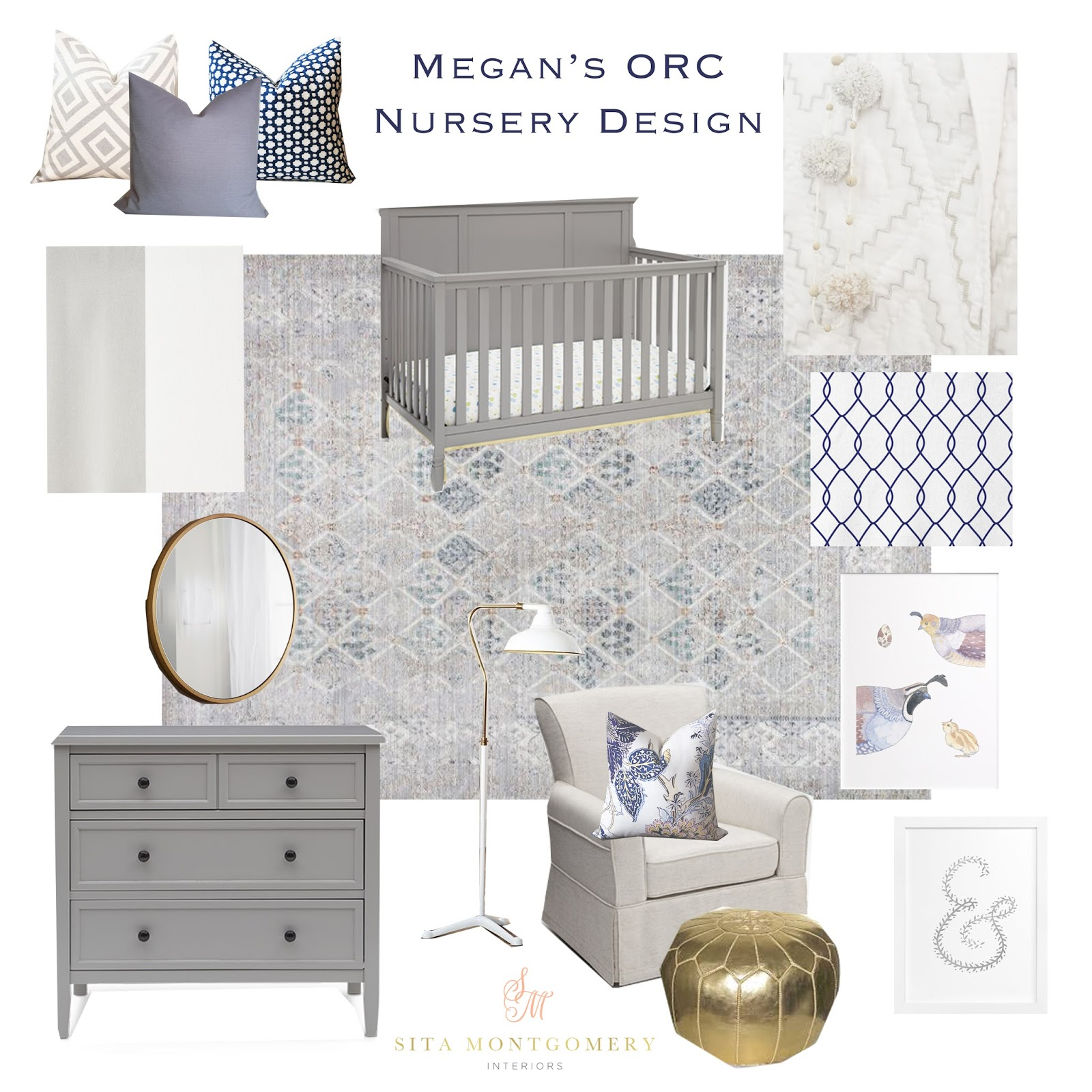 Megan S Honey We Re Home Nursery Design For The One Room Challenge