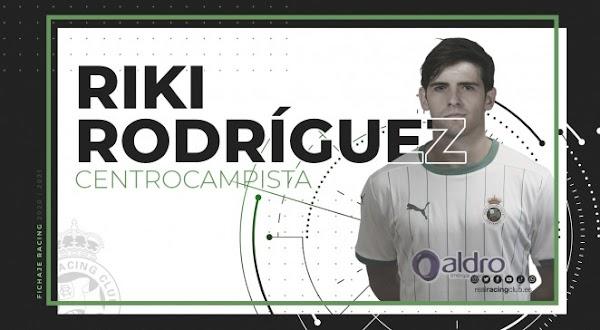Oficial: Oviedo, Riki cedido al Racing de Santander