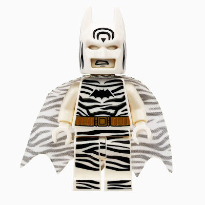 San Diego Comic-Con 2019 Exclusive Zebra Batman DC Comics LEGO Mini Figure