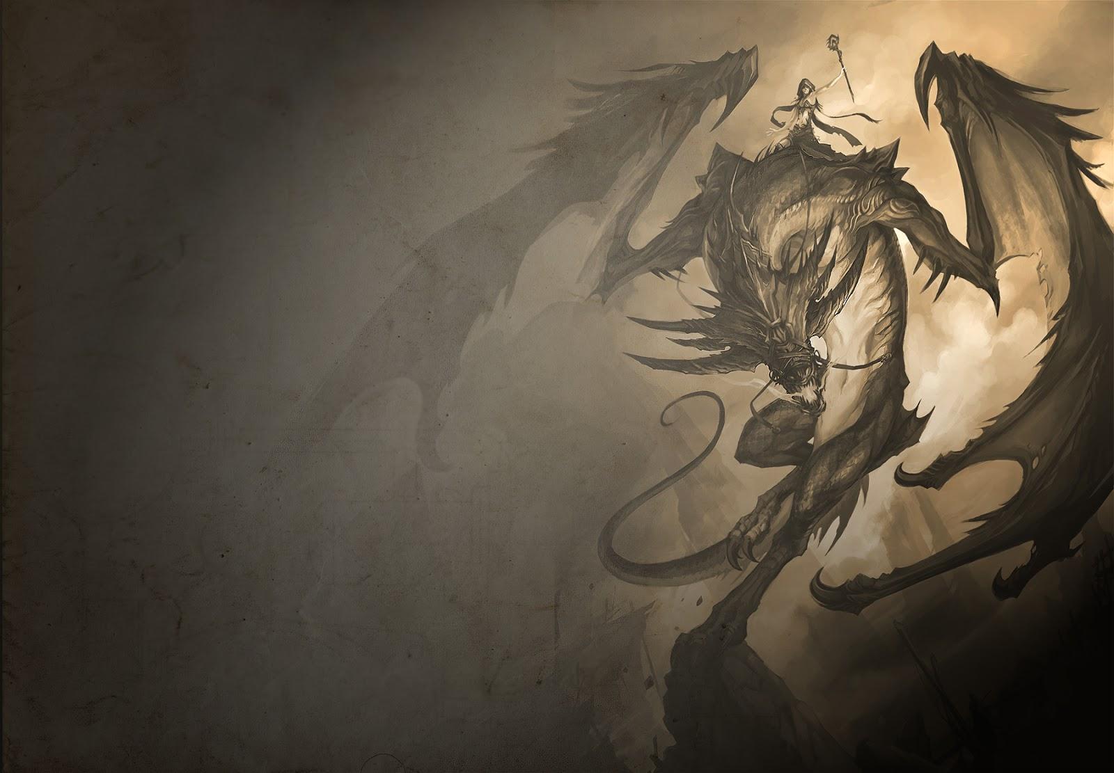 awesome 3d dragon wallpaper - photo #19