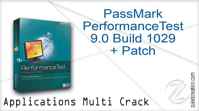 PassMark PerformanceTest 9.0 Build 1029 + Patch