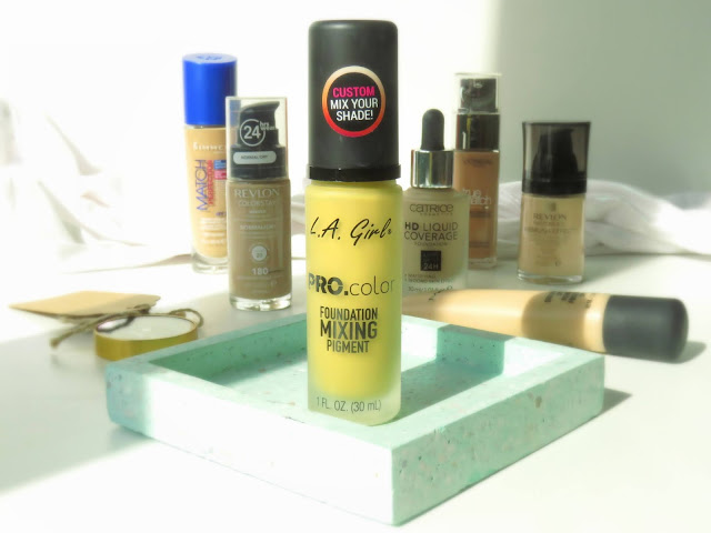 LA_girl_pro_color_foundation_mixing_pigment
