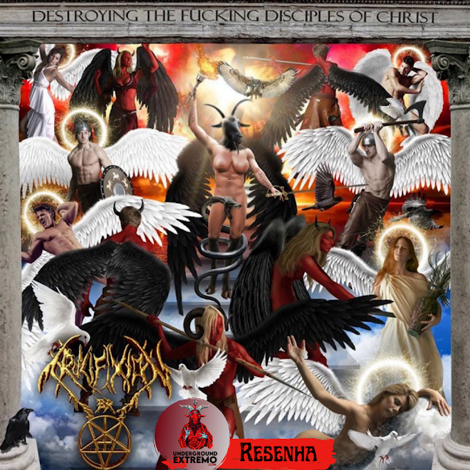 """Resenha #193: """"Destroying The Fucking Disciples Of Christ"""" (2014) - Crucifixion BR"""
