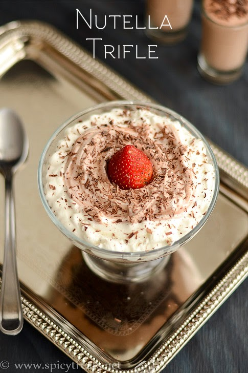 Nutella Trifle Recipe