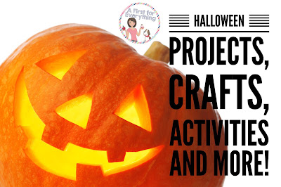 Halloween projects, crafts, activities and more with FREEBIES for kindergarten, first, and second grade. Reading, math, science and craft activities included to keep your students engaged despite the excitement of Halloween (K, 1st, 2nd grade)