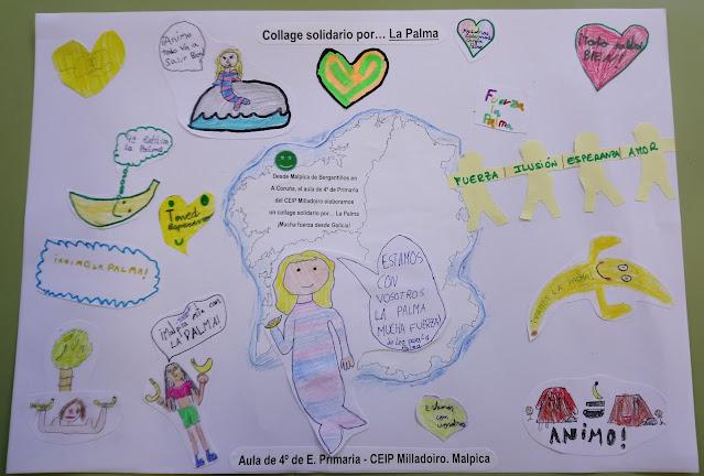 Collage solidario...por La Palma_4ºEP
