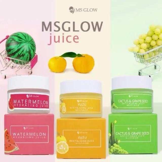 Kandungan Utama Yuzu Revitalizing Juice MS Glow