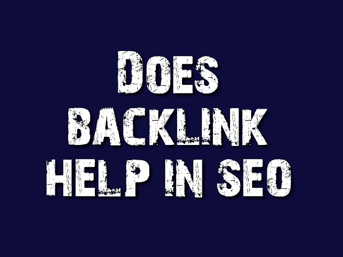 Does backlinks help with seo