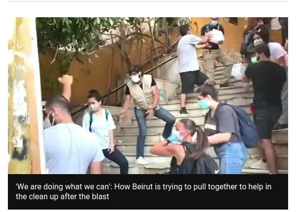 Angry occupants demand answers after Beirut explosion