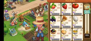 Cara Mendapatkan Uang (Gold) di Game FarmVille 2: Country Escape