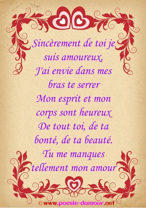 Quand Un Homme Dit Tu Me Manques : quand, homme, manques, Belle, Phrases, Manques, Amour, Poésie, D'amour