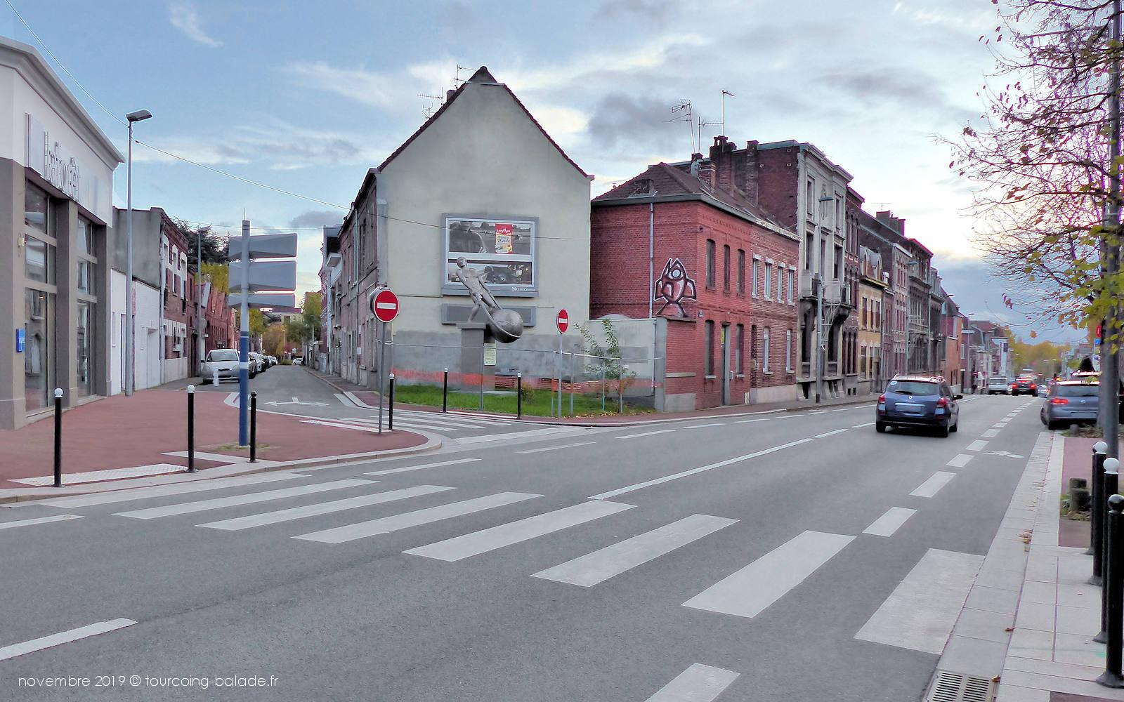 Tourcoing centre - Rue Faidherbe.