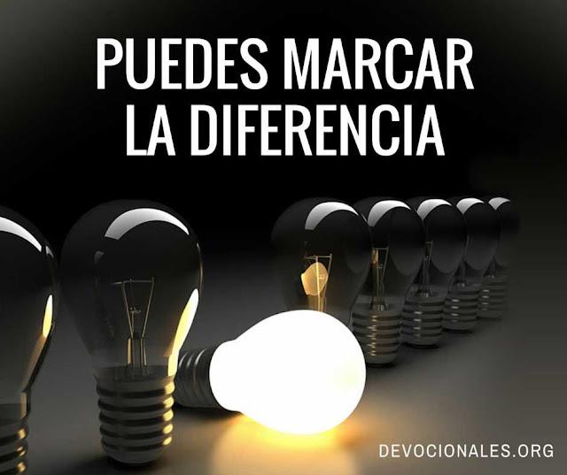TU puedes Marcar la Diferencia en los demás