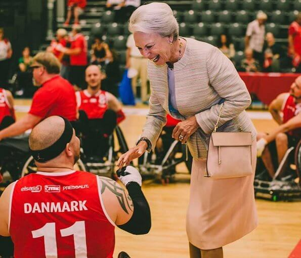 Princess Benedikte is Patron of The Danish Sports Organization for the Disabled Parasport Danmark